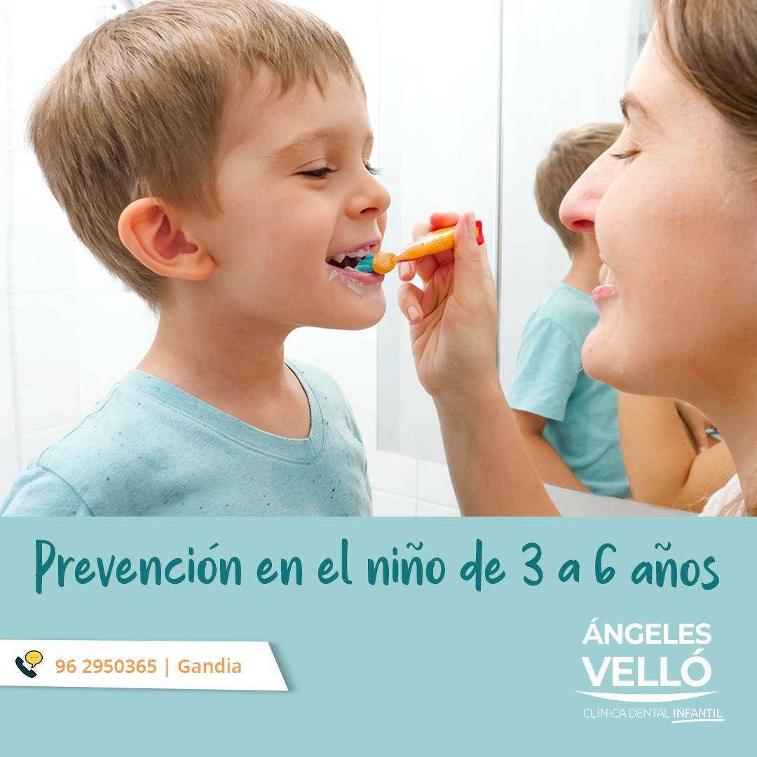 Prevención en niños de 3 a 6 años